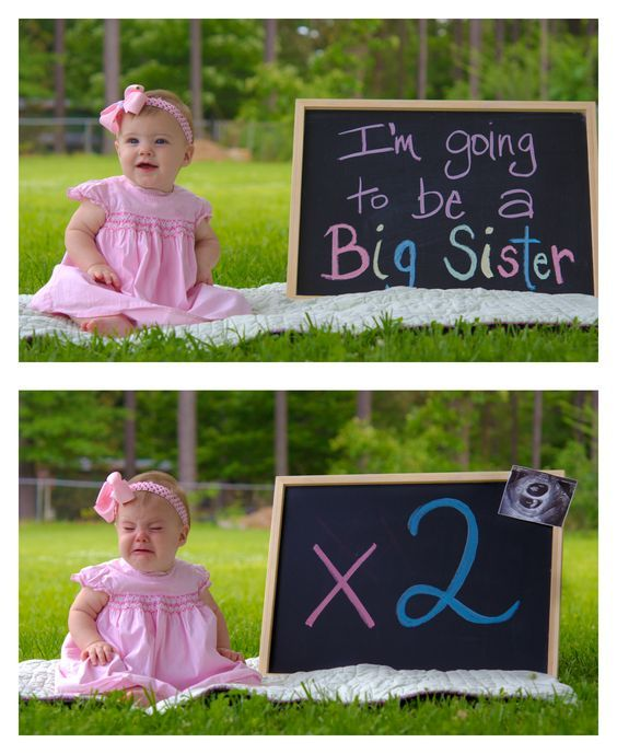 pregnancy announcement for twins